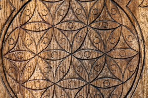 Wood Carving of Interconnectedness