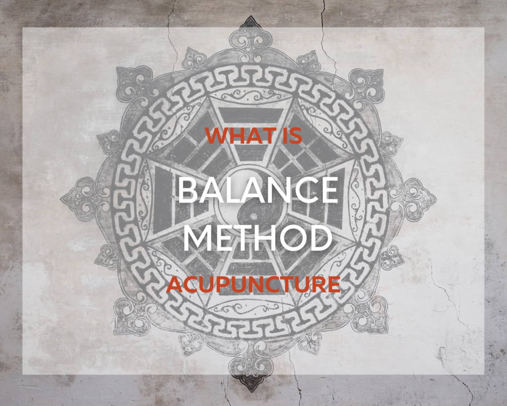 Balance Method Acupuncture in New York